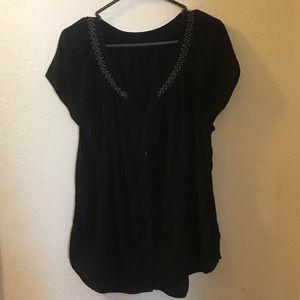 Tops - Button down blouse Size XXL